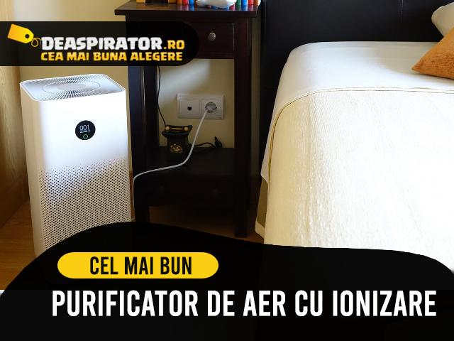 purificator de aer cu ionizare